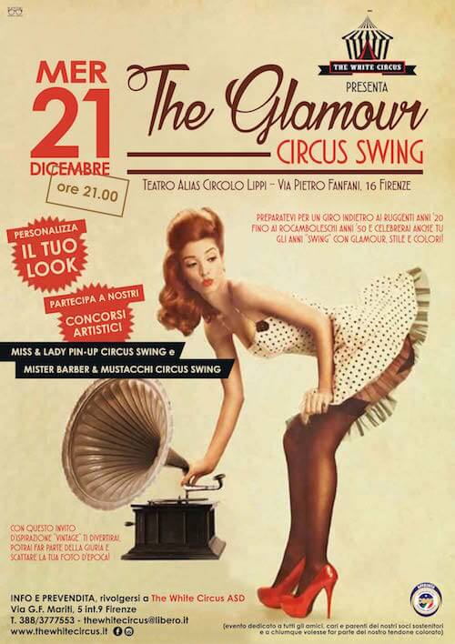 The Glamour Circus Swing - 21 dicembre 2016